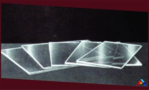 chapa ou placa de acrilico cristal 5mm 40x40 cm