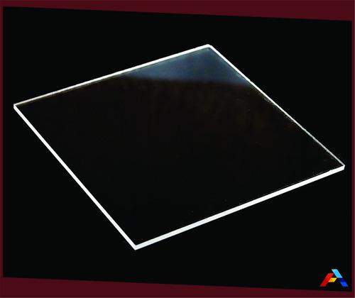 chapa ou placa de acrilico cristal 5mm 40x40 cm**