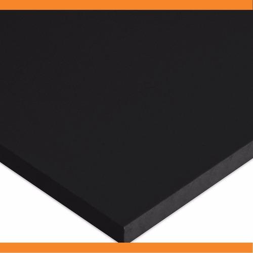 chapa ou placa de acrílico preto sob medida