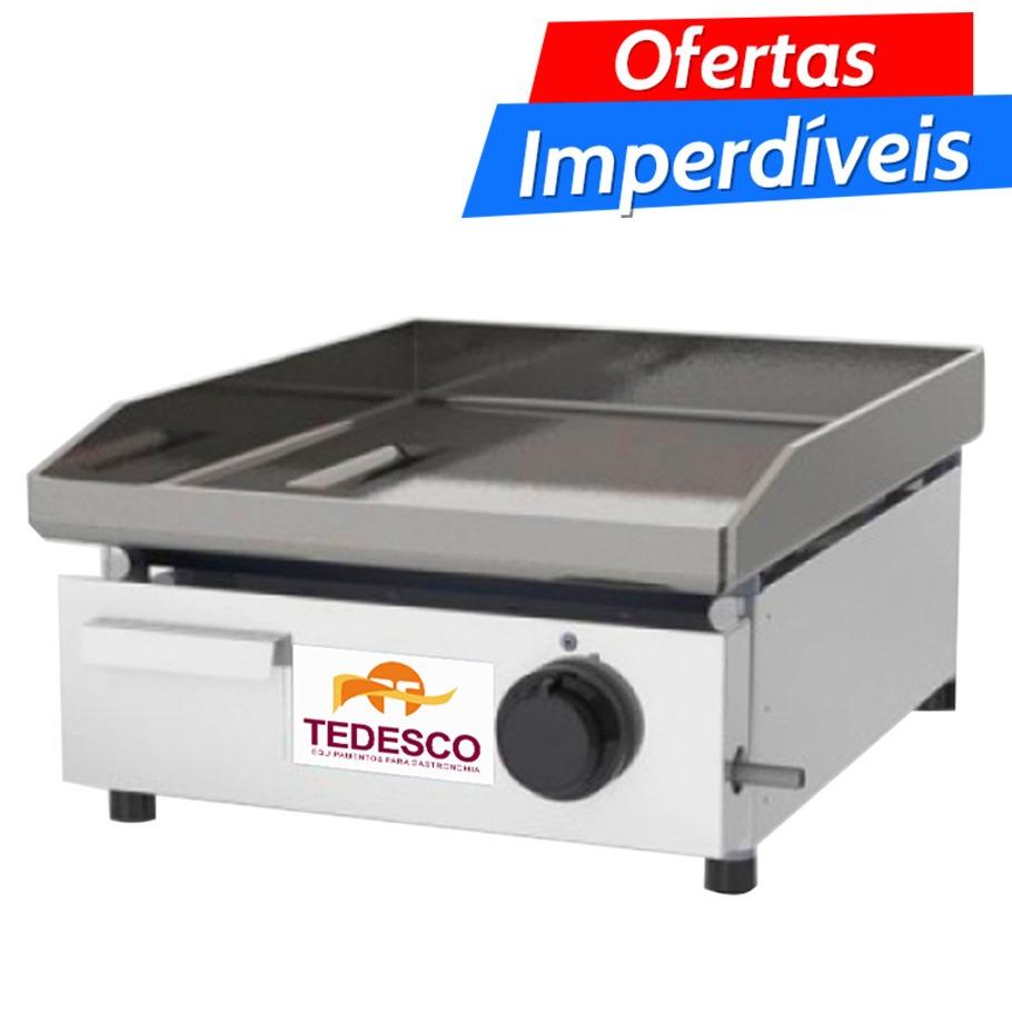 Chapa Para Lanches Industrial Tedesco Bgt 42 R 600 00 Em Mercado