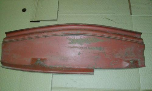 chapa pivo braço limpador parabrisa fusca 1300 1500 1600 entre capo dianteiro e painel, original vw remendo cortado 65cm
