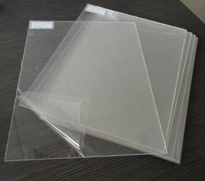 chapa placa acrílica cristal transparente 1x1m espessura 2mm