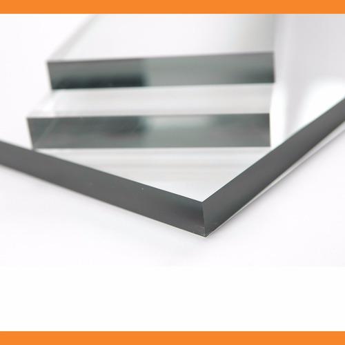 chapa placa acrílico transparente 200 cm x 100 cm x 8mm