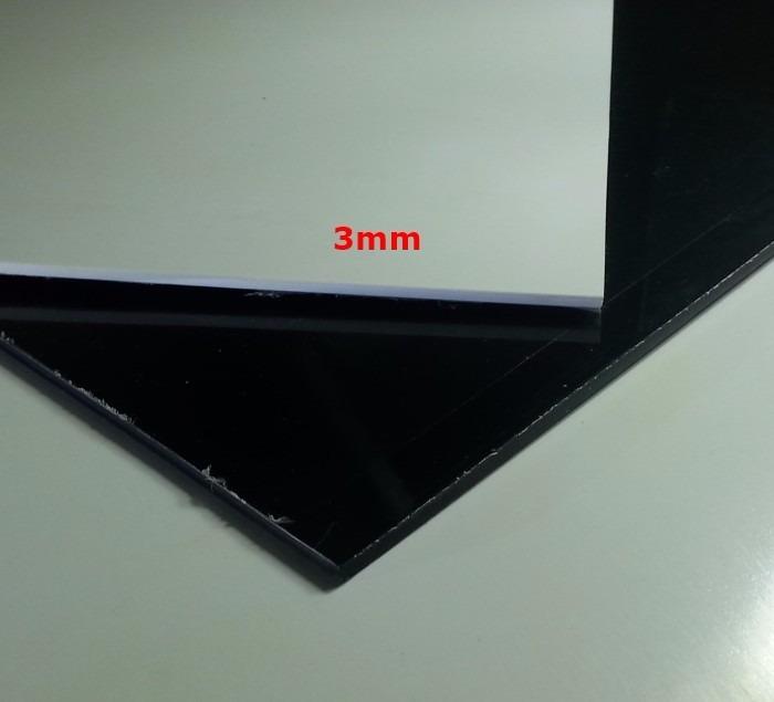 Chapa placa de ps poliestireno colorida de 3mm x 50cm x - Placas de poliestireno extruido ...