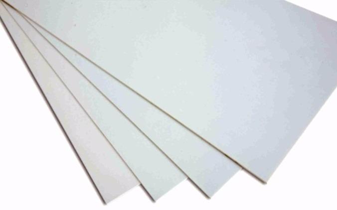 Chapa placa p s poliestireno similar pvc branca 1mm 2mx1m - Planchas de poliestireno ...