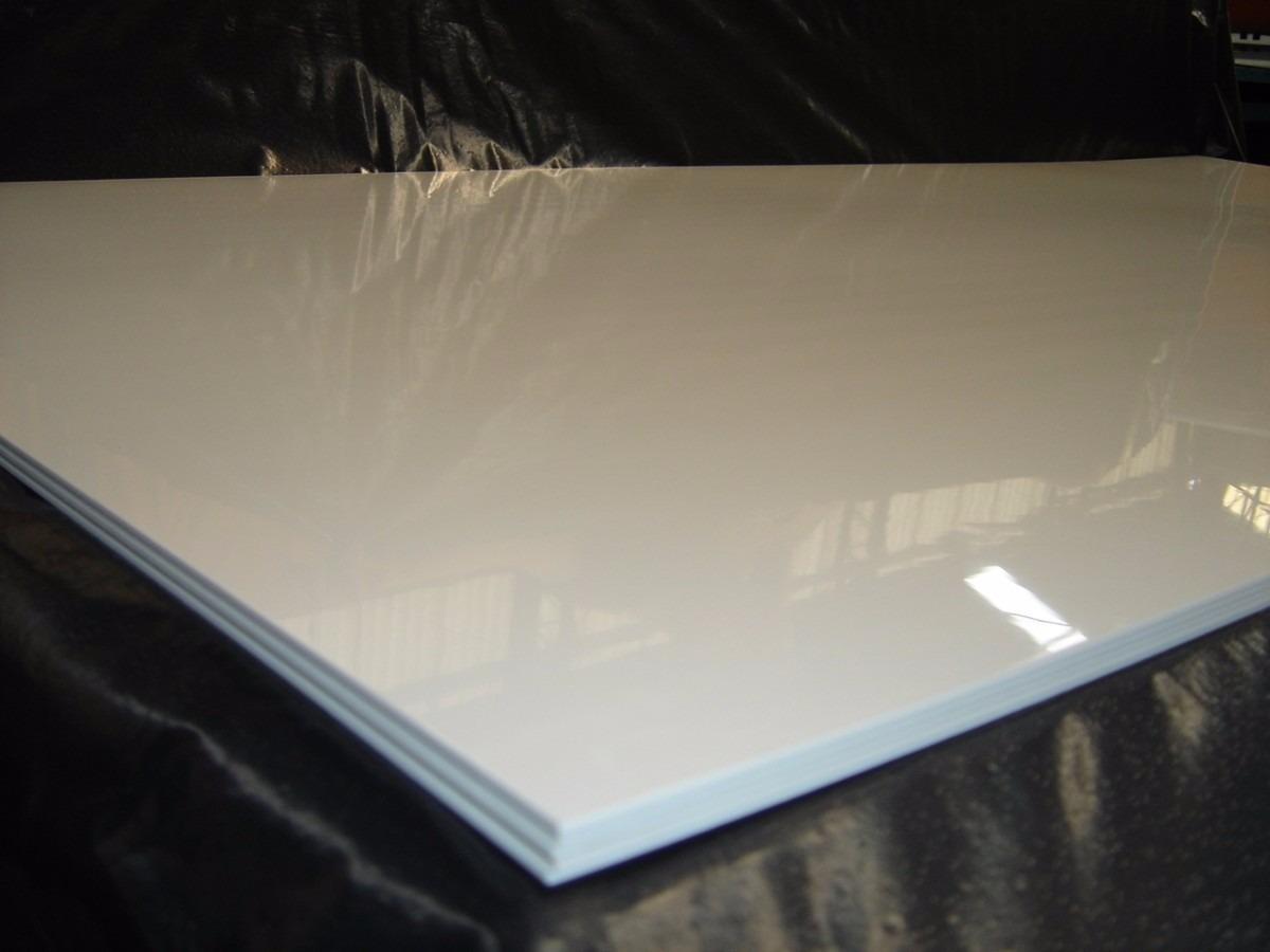Chapa placa p s poliestireno similar pvc branca 1mm 2mx1m for Placas de poliestireno para techos precios