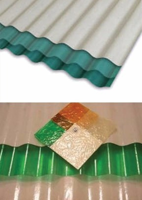 chapa plástica verde traslúcida 12 pies la plata
