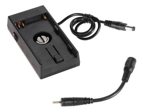 chapa poder monte bateria câmera dv para blackmagic bmcc 4k