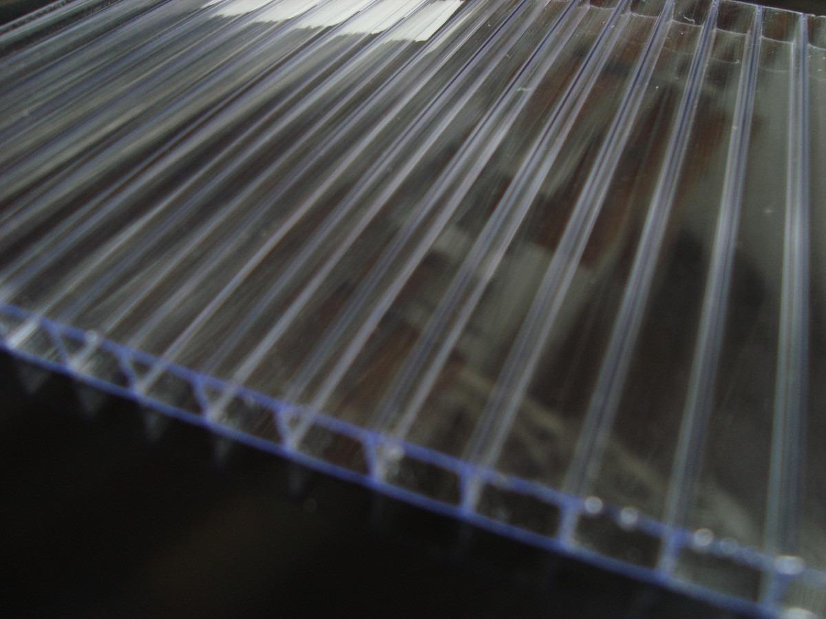 Chapa policarbonato alveolar cristal 10mmx2100x6000mm r - Cristal policarbonato ...