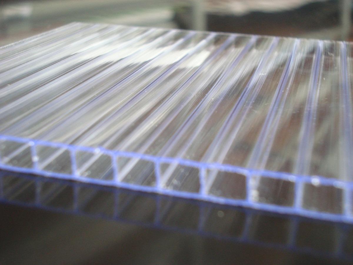 Chapa policarbonato alveolar cristal 4mmx1050x6000mm r - Cristal policarbonato ...
