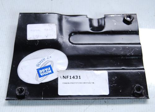 chapa protetora motor traseiro fusca 59 70 96 direito 1431