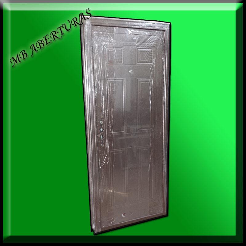 Puerta exterior doble chapa puertas interiores y for Donde venden puertas