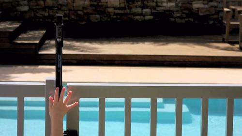 chapa seguridad piscina cierre reja magnalatch piscineria