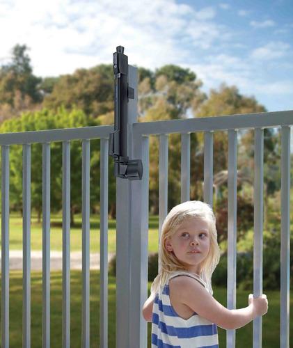 chapa seguridad reja piscina magnalatch alarma piscineria