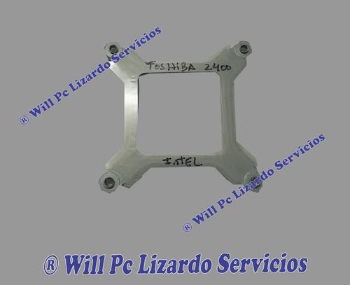 chapa soporte de fan cooler portatil toshiba 2400 s201