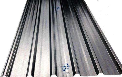 chapa trapezoidal galvanizada armco nº24 0,50mm ff
