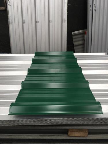 chapa trapezoidal prepintada color verde - por 4 metros!!