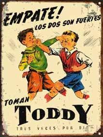 chapa vintage publicidad antigua chocolate toddy l640