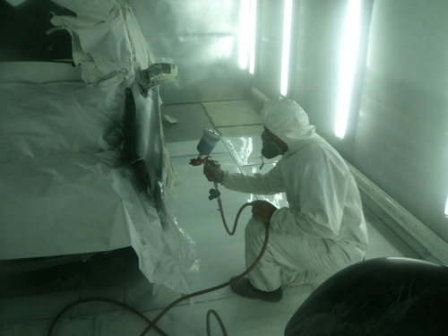 chapa y pintura,reparacion de paragolpes y pintura de llanta