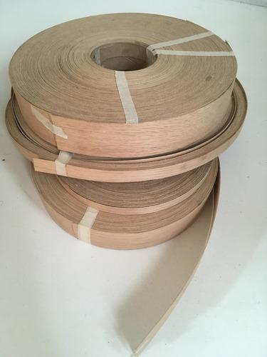 Chapacinta cubre canto cubrecanto de madera natural encino - Canto para madera ...