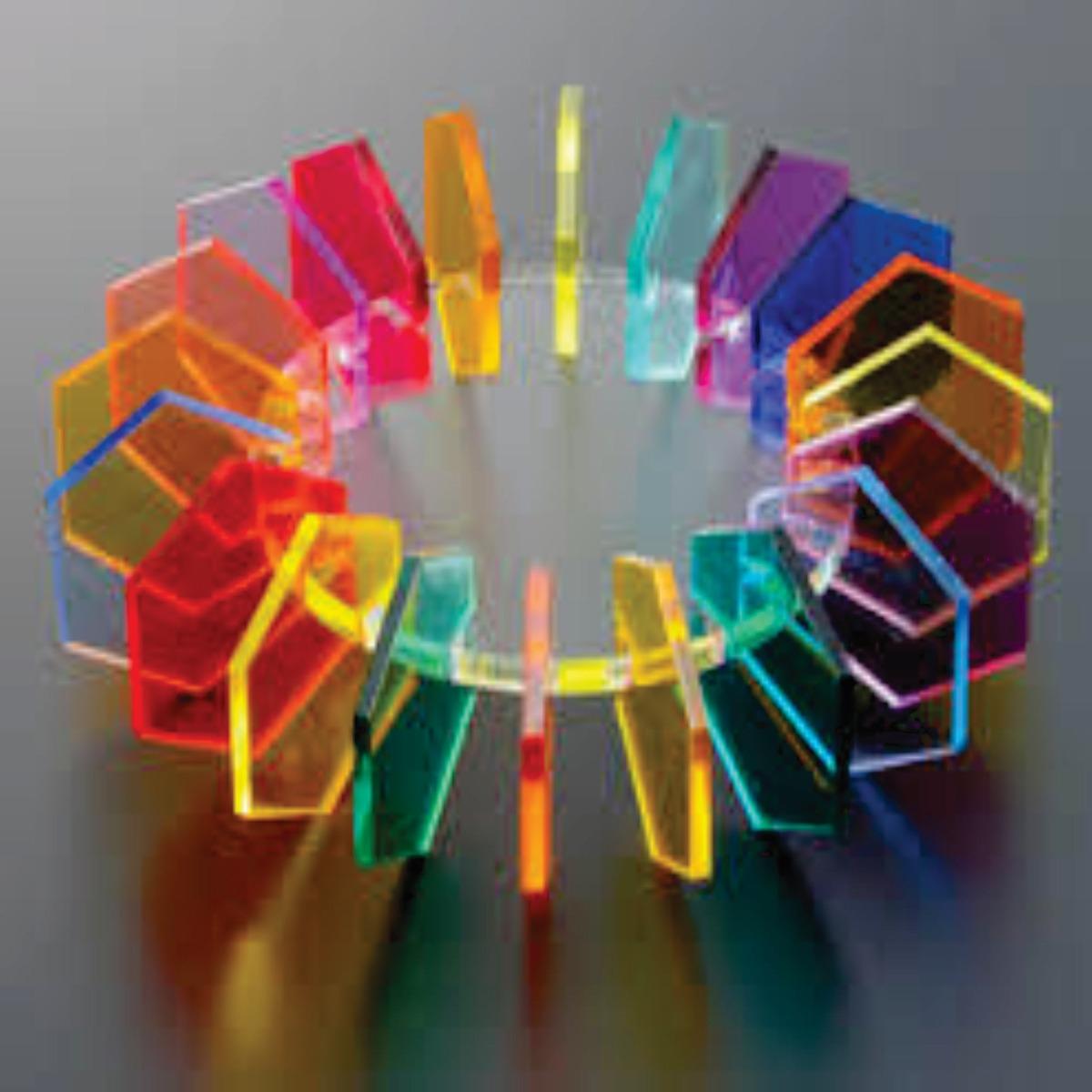 Chapas Acrilico Cristal Transparente 3 Mm X 10 Cm X 10 Cm