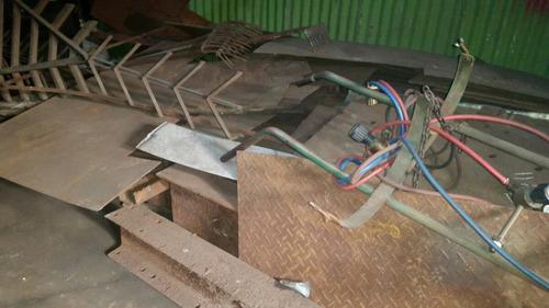 Chapas de barco mesas vigas en hierro 690 00 en - Chapas de hierro ...