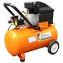 Compresor De Aire 220v/60hz 50lts Naranja Safari Sf-fl50l Or