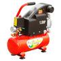 Compresora De Aire 9l Roja 220v 1.5hp 8kc-9l Red Safari
