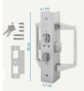 Chapas para puertas normas capfce tipo llave llave 500 for Tipos de llaves de puertas