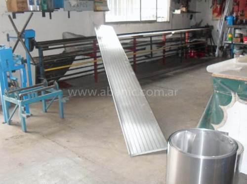 chapas para toldos aluminio y poliester (todas las medidas)