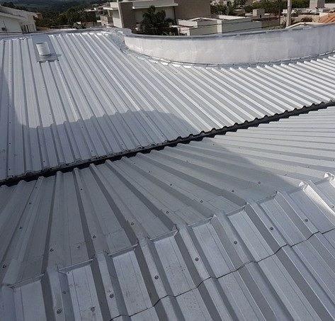 chapas techo aluminizada trapezoidal galvanizada calibre 26