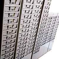 chapeira porta cartão de aço para 15 cartões de ponto