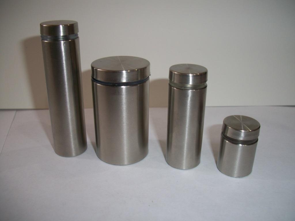 Chapetones separadores herrajes de acero inoxidable rgl for Precios accesorios para banos acero inoxidable