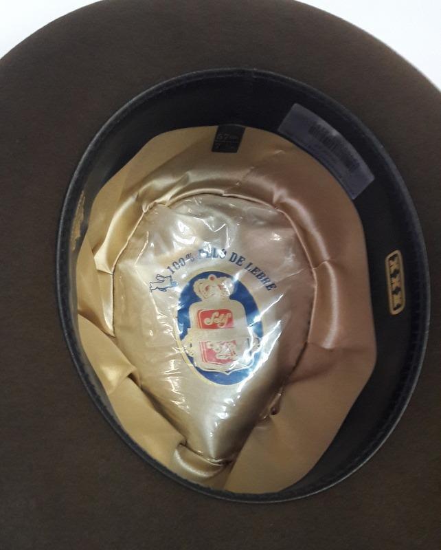 ccfff475470d9 chapéu 100% pelo de lebre cury ramenzoni xxx. Carregando zoom.