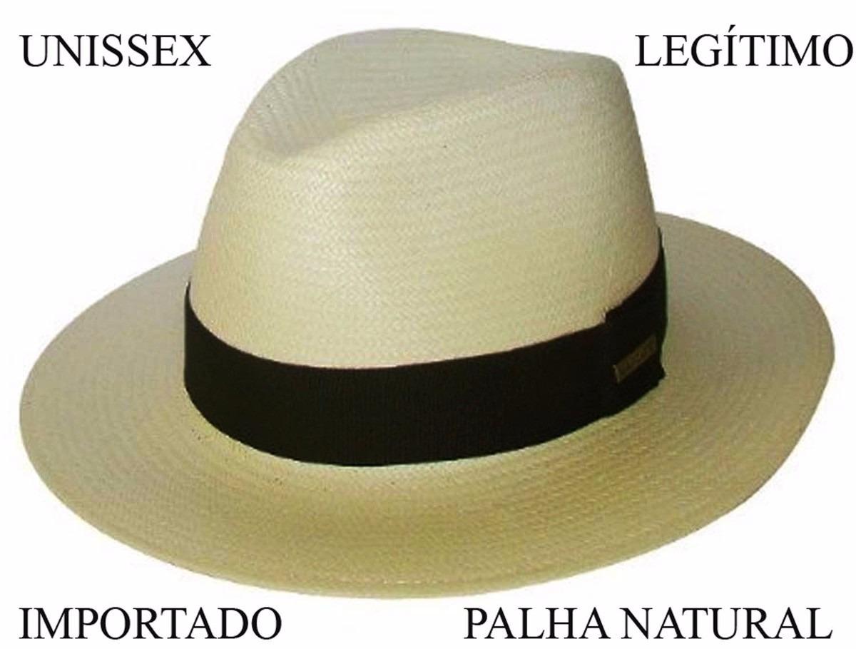 chapéu aba larga moda panamá importado. Carregando zoom. c9791e99a64