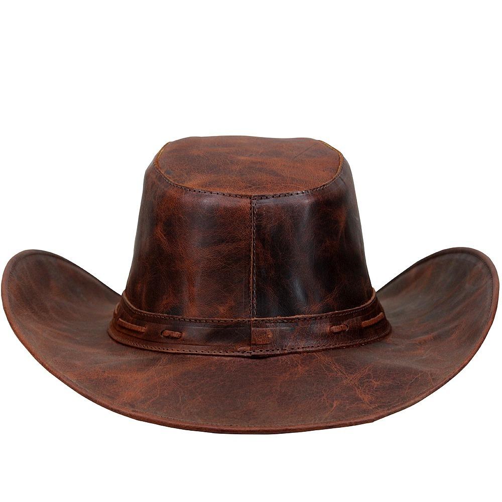 a247e5466fc94 chapéu alta qualidade couro masculino peao. Carregando zoom.