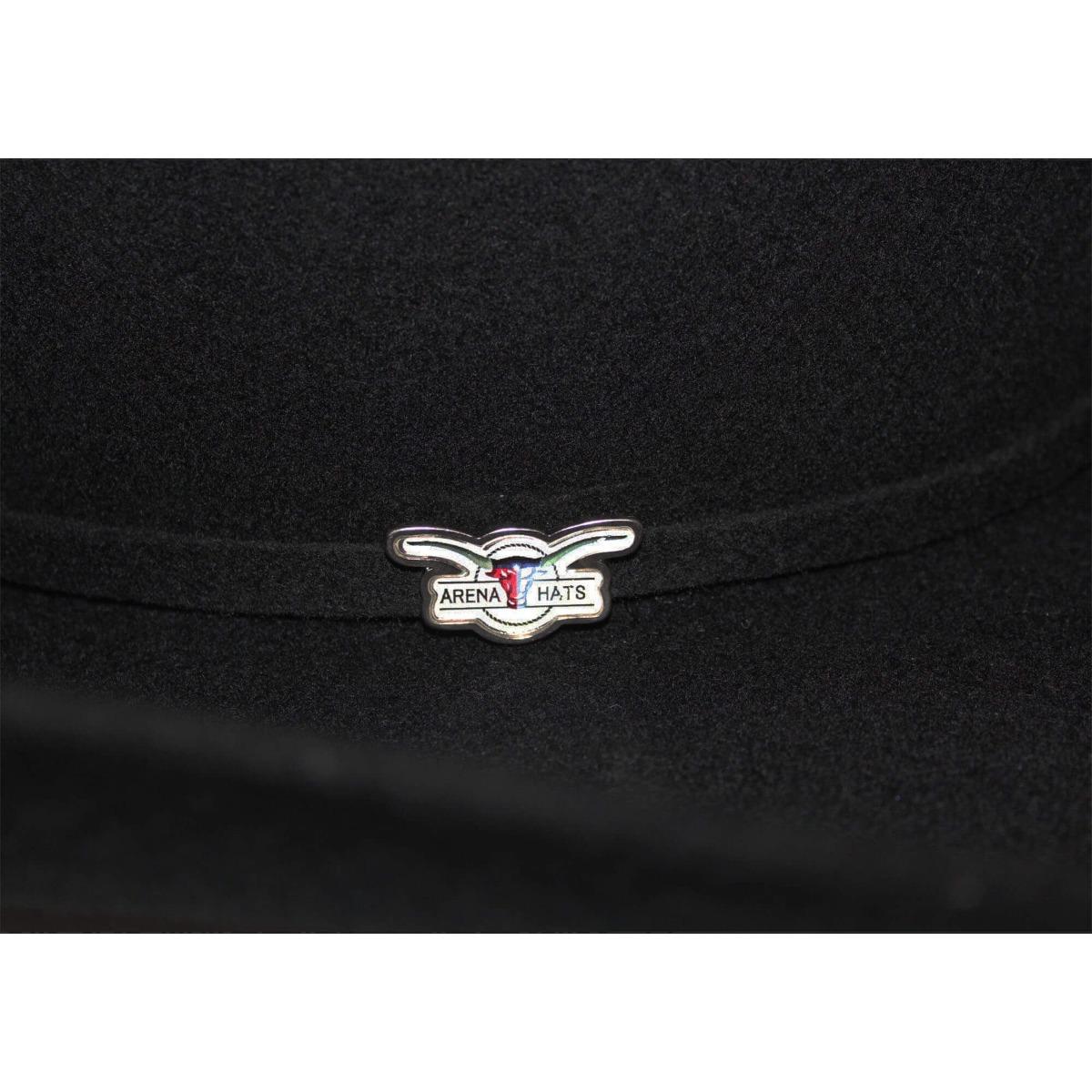 chapéu arena hats manhattan banda feltro preto aba 13. Carregando zoom. 97f50edb1a2