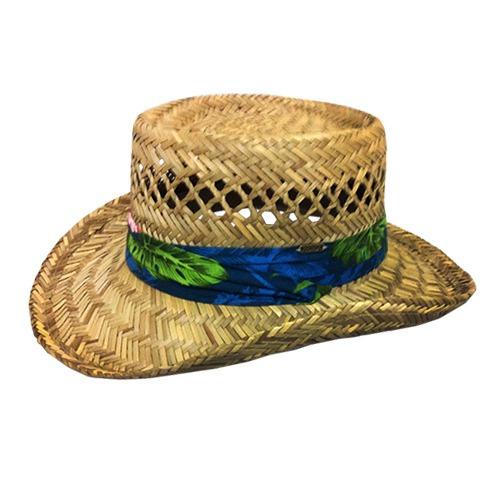 chapéu arte praia camping palha junco feminino belfix #5533