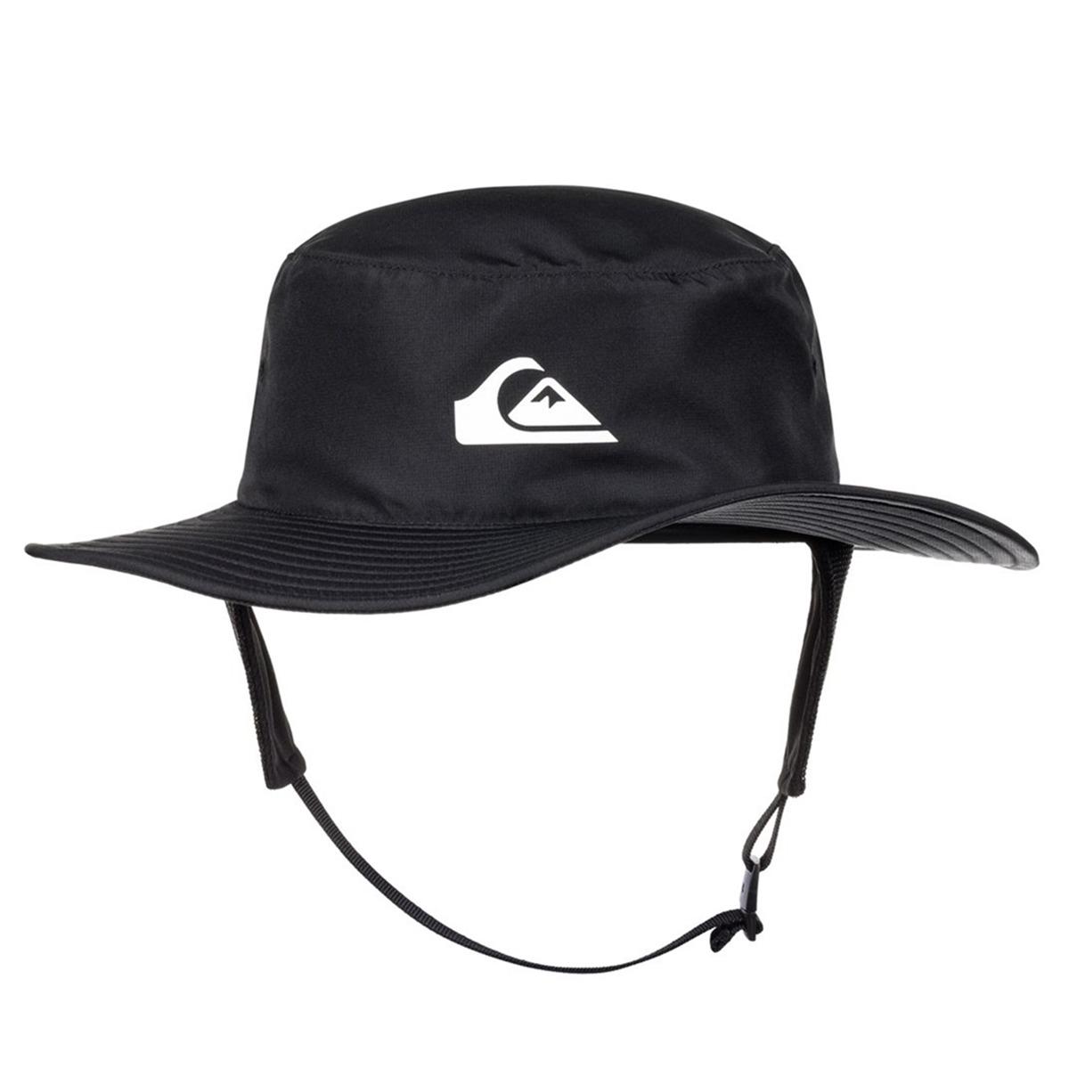cdfb3e428ffe5 chapéu australiano quiksilver bushmaster surf preto. Carregando zoom.