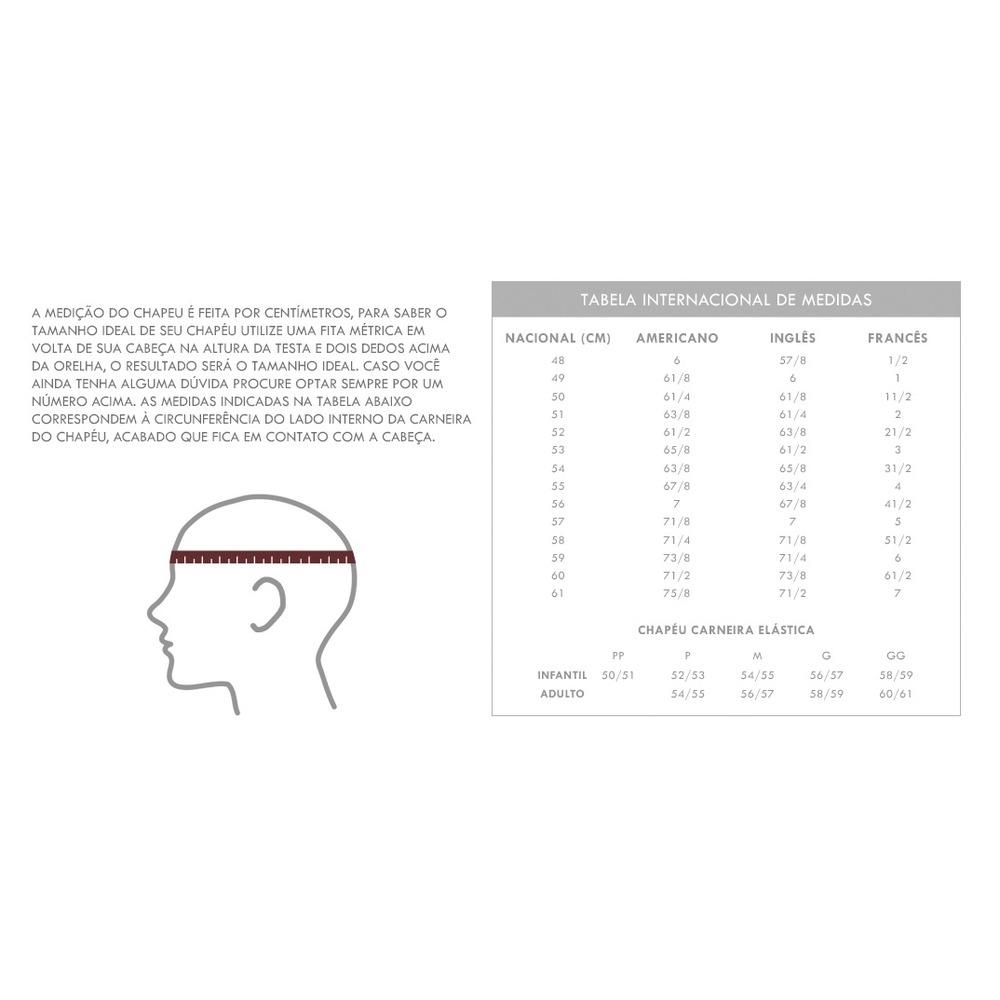 b532c840c74b4 chapéu bangora pralana em celulose aba reta rendado branco. Carregando zoom.