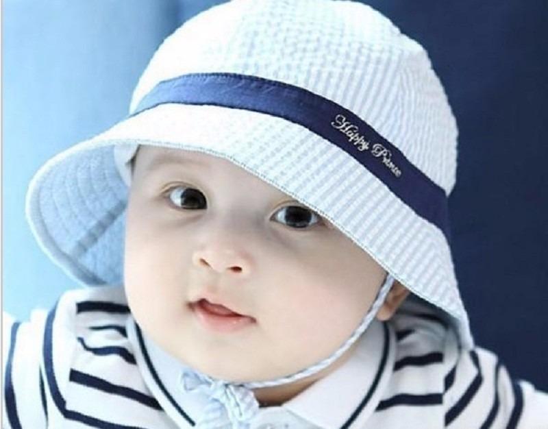 312605f4e10d9 Chapéu Bebê Proteção Solar Uv Sol Protetor Bonê Praia Sunga - R  35 ...