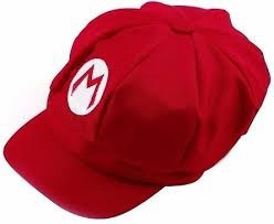 chapéu boné boina mario bros e luigi kit fantasia