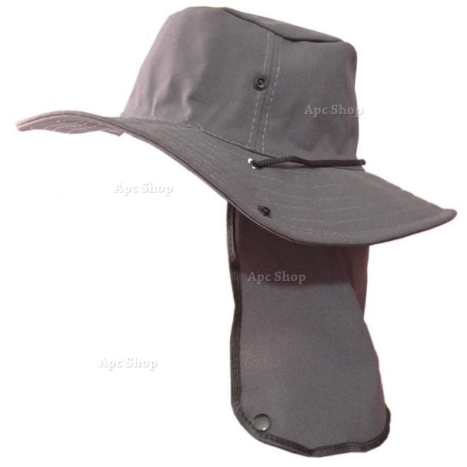Chapéu Boné Sol Protetor De Nuca P  Pescador Caçador Mateiro - R  26 ... 479ac1ed764