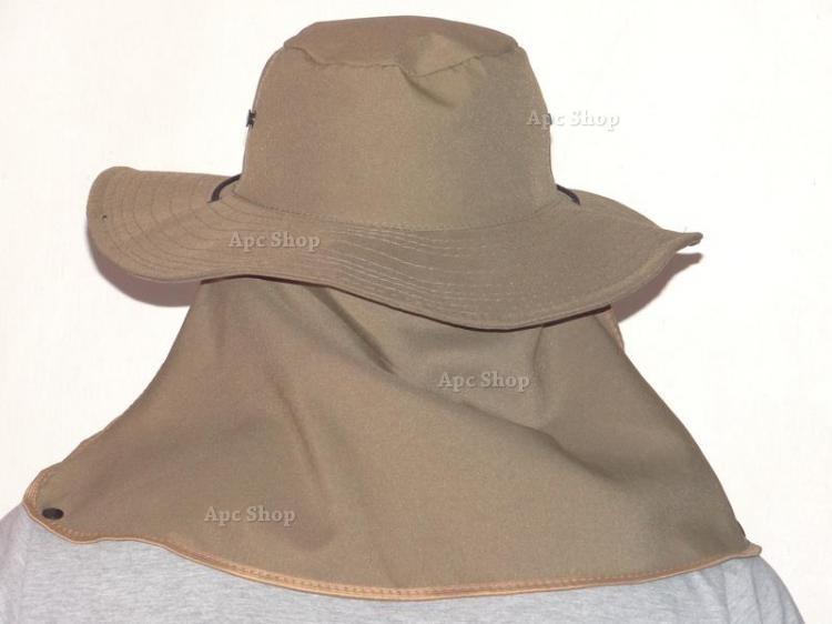 Chapéu Boné Sol Protetor De Nuca P  Pescador Ou Caçador - R  25 11efc8048ea