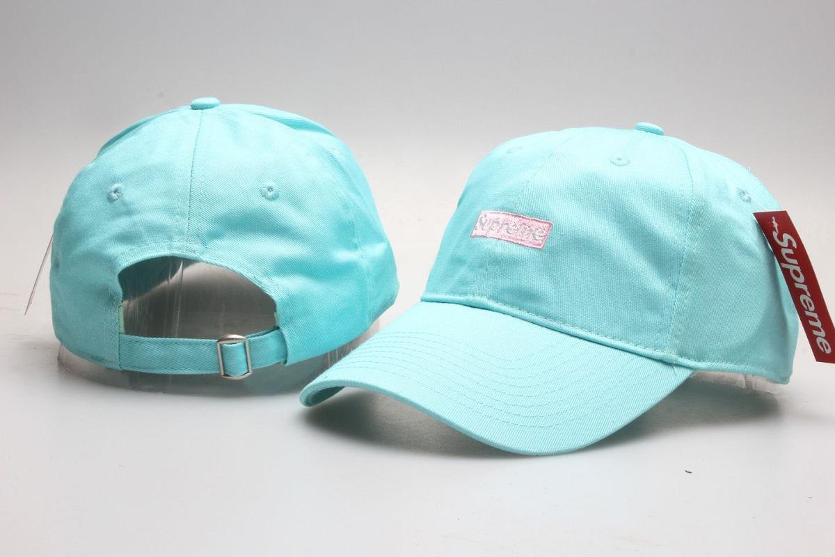 3b5705362bf31 chapéu boné supreme aba curva azul bebê - pronta entrega. Carregando zoom.