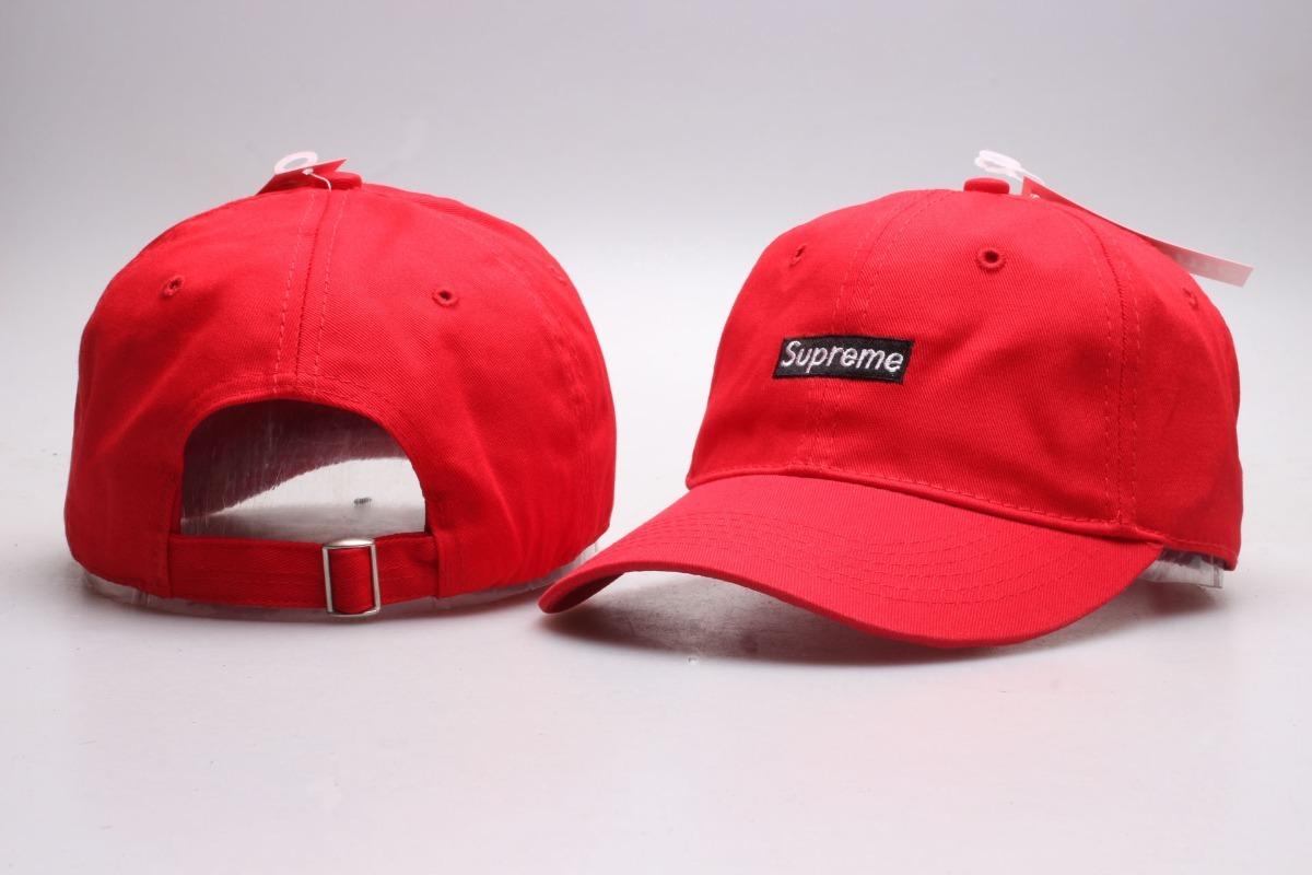 ce5066f5090b3 chapéu boné supreme aba curva vermelho - pronta entrega. Carregando zoom.