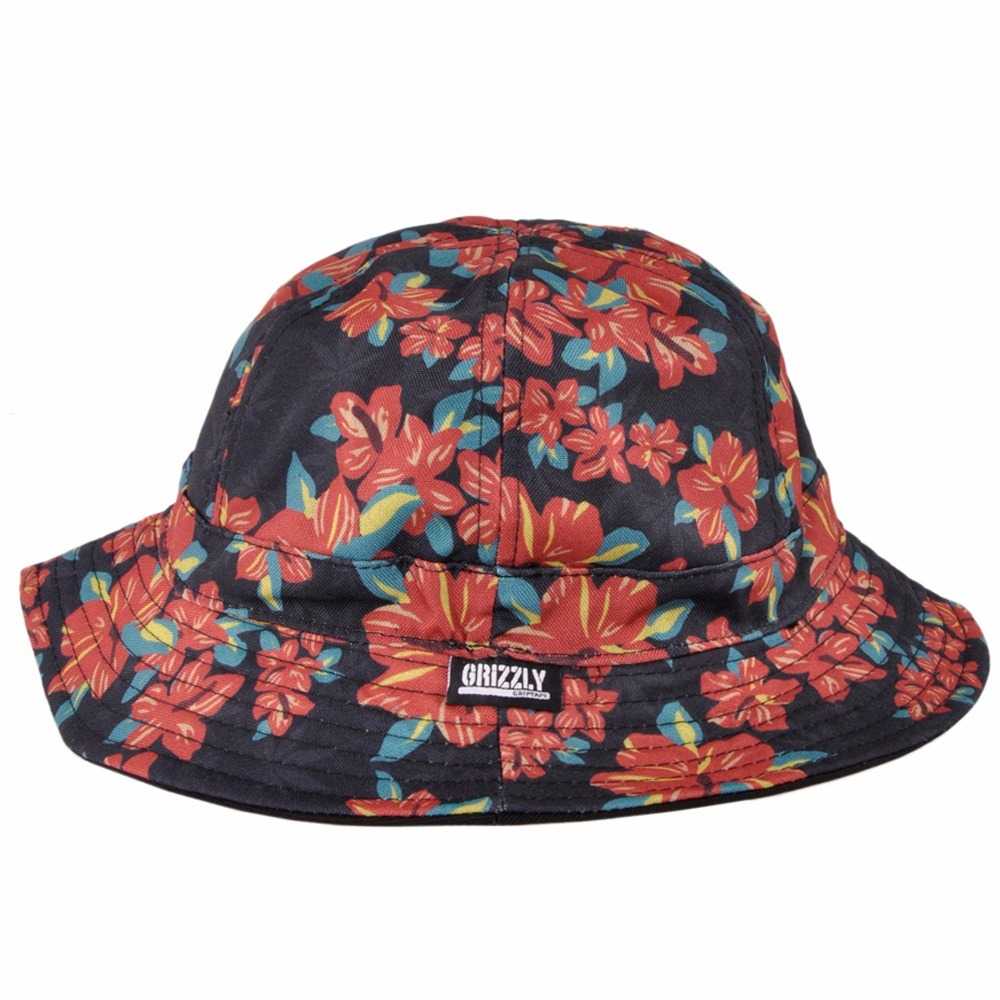 dcf605a0acd2c Chapeu Bucket Grizzly Suply Tropical High Reversivel - R  199