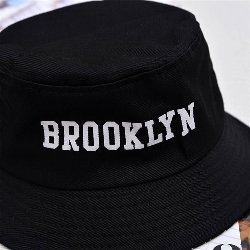 chapéu bucket hat brooklyn preto frete grátis + brinde. Carregando zoom. 0f087965790
