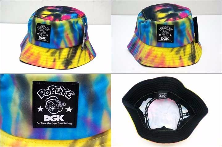 4269aa888f127 Chapeu Bucket Hat Dgk Popeye Tie Dye Original Pronta Entrega - R ...