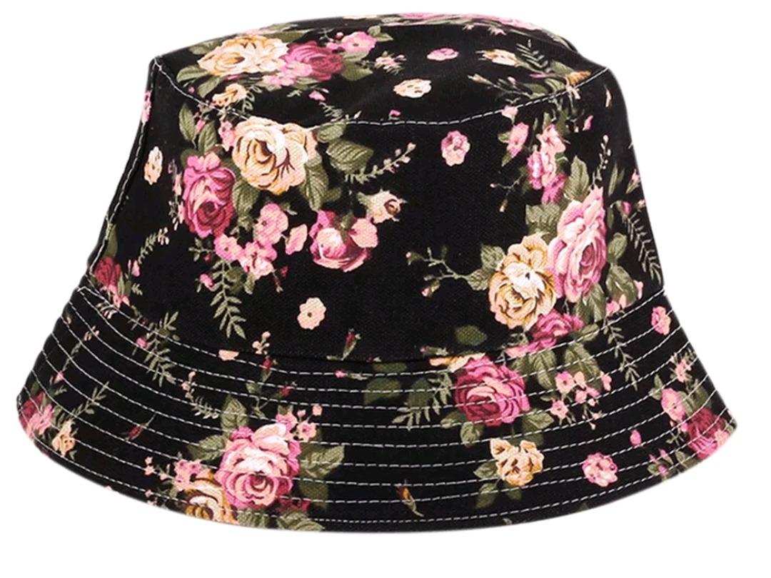 chapéu bucket hat floral pescador viseira boné. Carregando zoom. 8fb9ed30e9db
